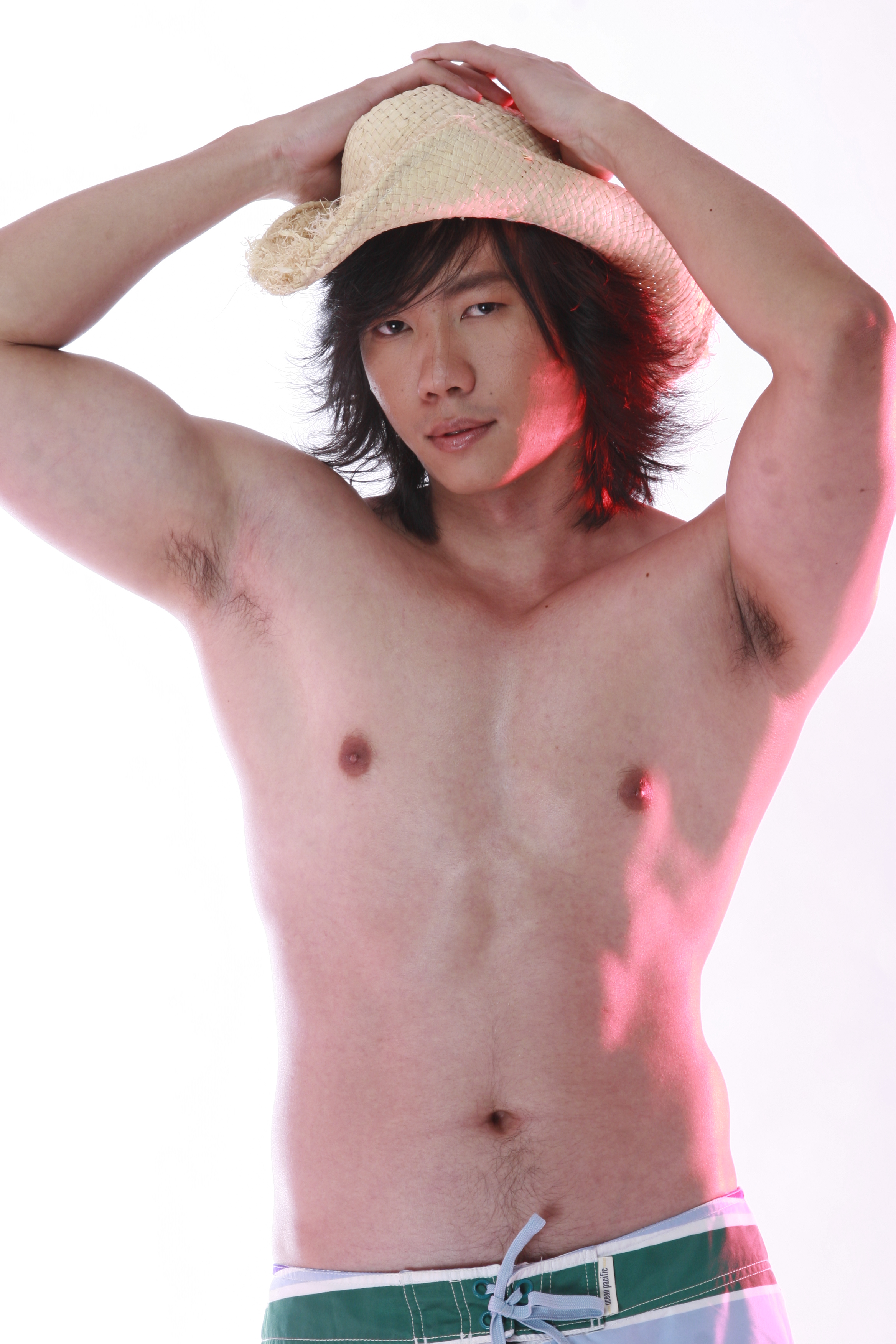 Ratchakit R Asian Male Model
