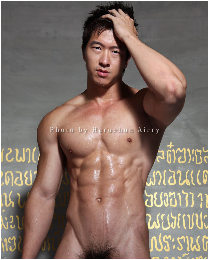 from Vicente korean nude model male