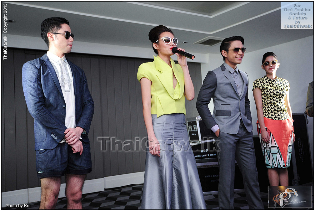 pq Eyewear by Ron Arad_Yayaying-Rhatha Phongam (ญาญ่าญิ๋ง-รฐา โพธิ์งาม)_New-Chaiyapol Julien Poupart (นิว ชัยพล จูเลี่ยน พูพาร์ค)_MSI_Modeling_34