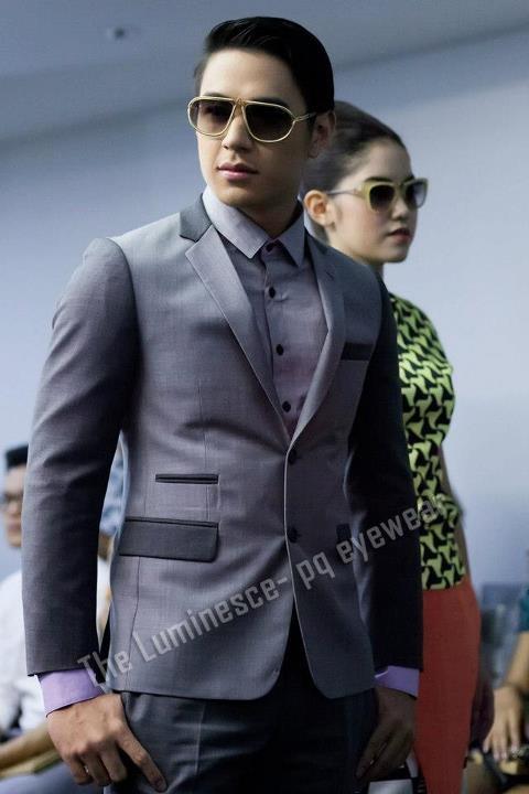 pq Eyewear by Ron Arad_Yayaying-Rhatha Phongam (ญาญ่าญิ๋ง-รฐา โพธิ์งาม)_New-Chaiyapol Julien Poupart (นิว ชัยพล จูเลี่ยน พูพาร์ค)_MSI_Modeling_21