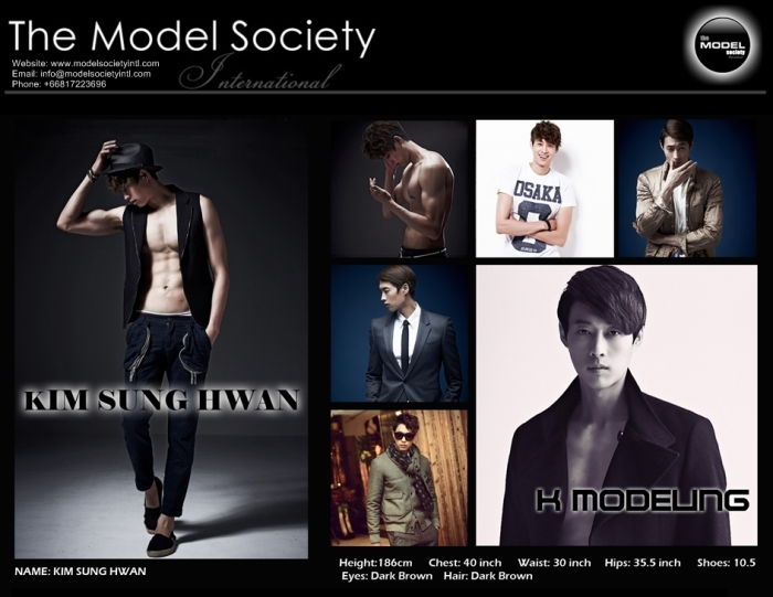 Kim Sung Hwan_Korean_Agency MSI   The Model Society International Modeling Agency Bangkok Thailand_New 2013
