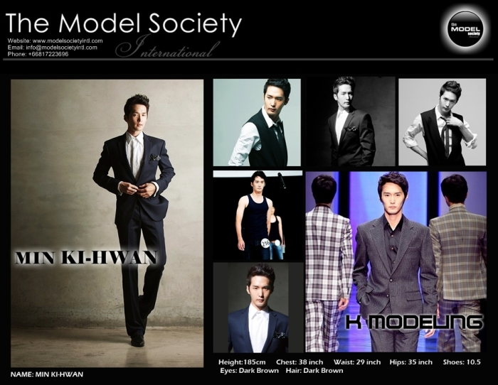 Min Ki Hwan_Korean_Agency MSI   The Model Society International Modeling Agency Bangkok Thailand_New 2013