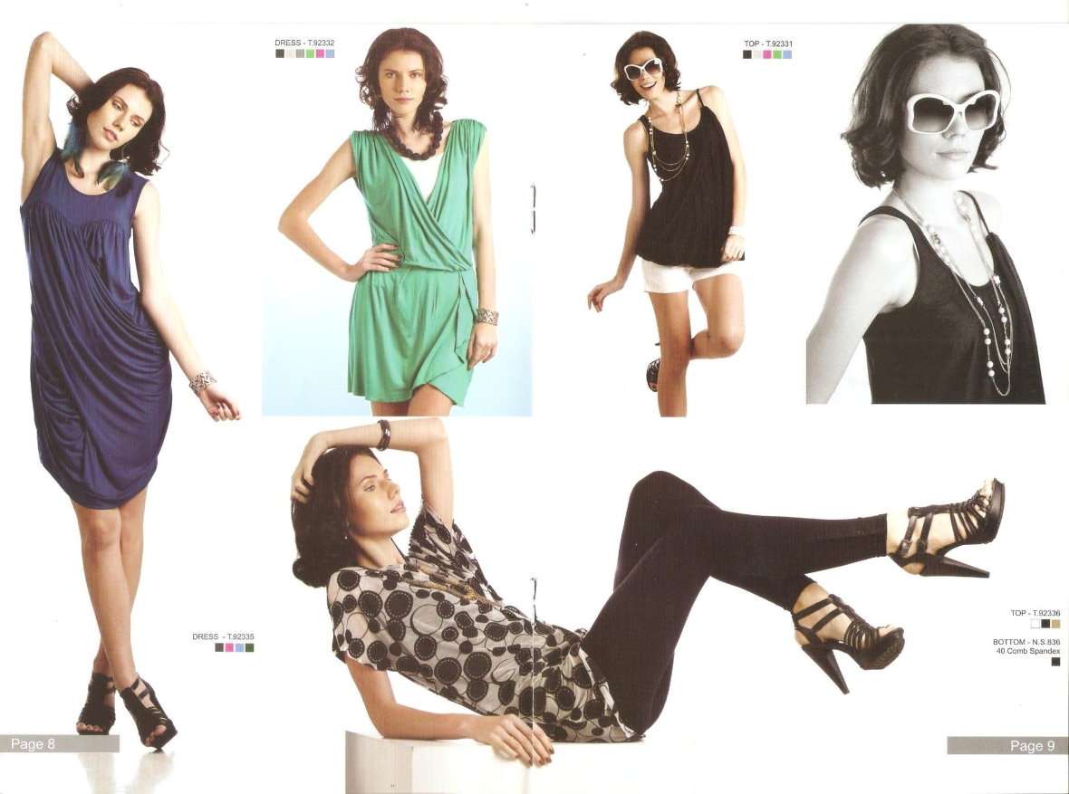 NO PROBLEM Look Book-Anna D-Alex U-MSI Modeling Agency in Bangkok Thailand8-9