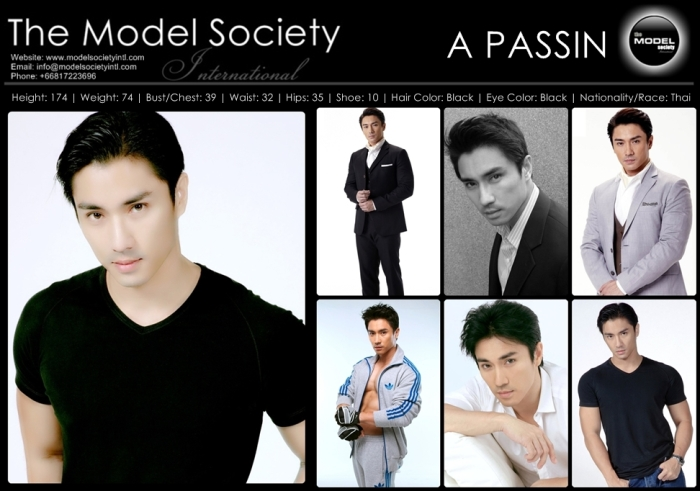 เอ พศิน เรืองวุฒิ A Passin Ruangvuth@Model Society International (MSI) Modeling Agency in Bangkok Thailand By Miss Josie Sang