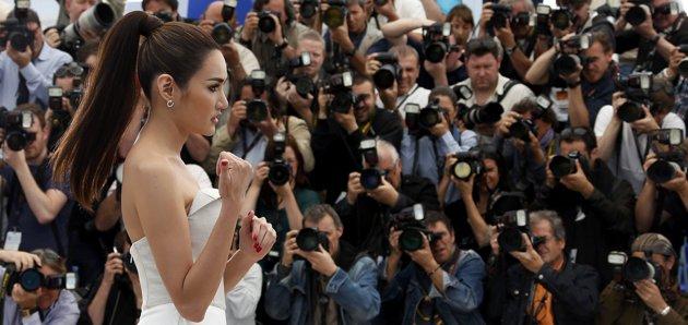 @yayaying_yaya Yayaying Rhatha Phongam in #Cannes2013 #Only God Forgives @Model Society International (MSI) Modeling Agency in Bangkok Thailand By Miss Josie Sang (1)