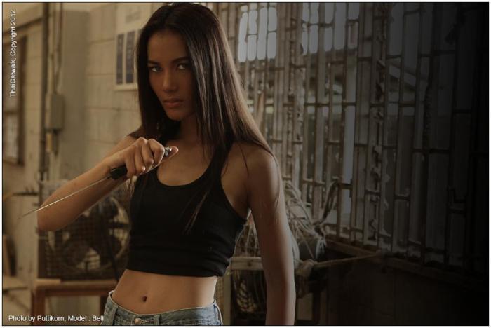 Bell Nassara @Model Society International (MSI) Modeling Agency in Bangkok Thailand By Miss Josie Sang (124)