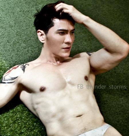 Thunder Storms-Thai Male Model-Fitness Model-Underwear Model-MSI (16)