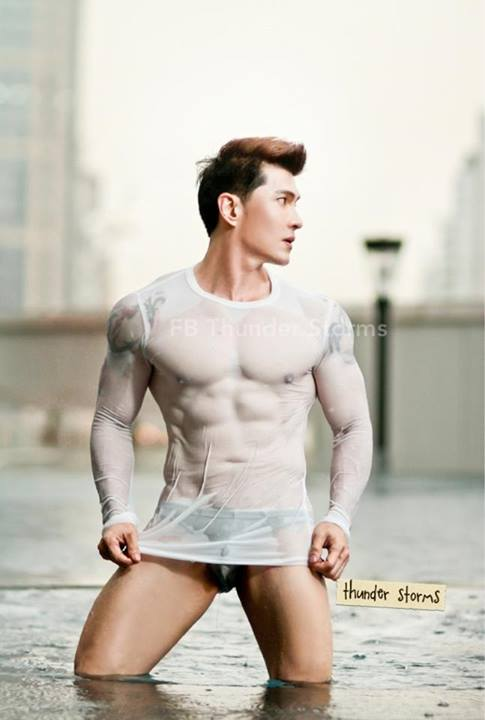 Thunder Storms-Thai Male Model-Fitness Model-Underwear Model-MSI (19)