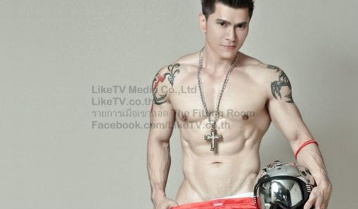 Thunder Storms-Thai Male Model-Fitness Model-Underwear Model-MSI (21)