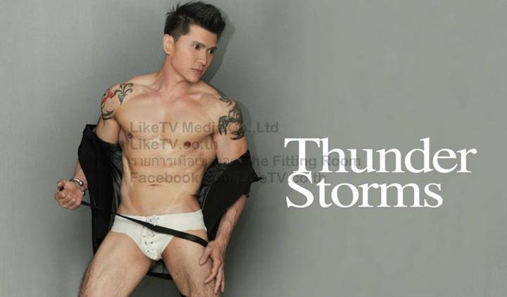 Thunder Storms-Thai Male Model-Fitness Model-Underwear Model-MSI (23)