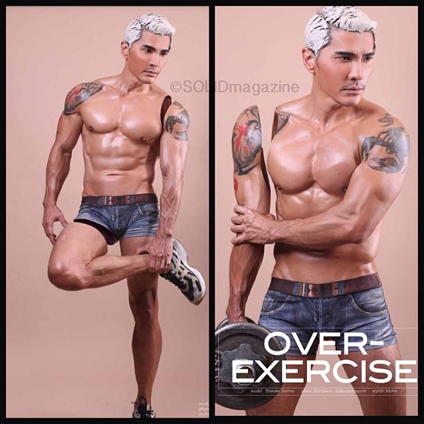 Thunder Storms-Thai Male Model-Fitness Model-Underwear Model-MSI (3)