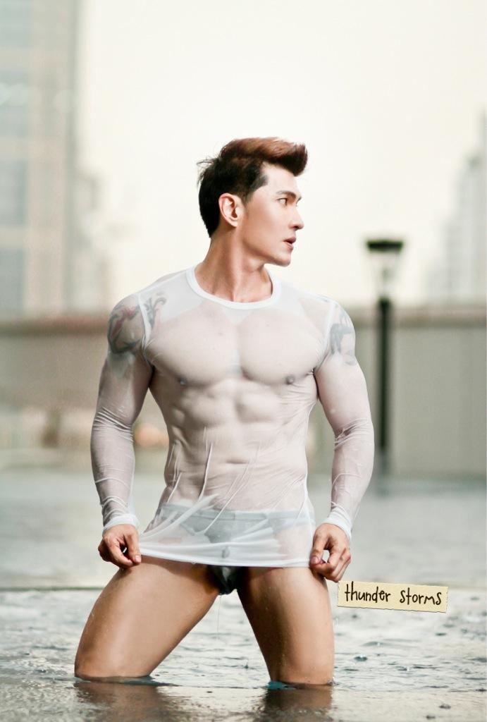 Thunder Storms-Thai Male Model-Fitness Model-Underwear Model-MSI (8)