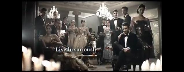 Model Society - Gabriella Papp  TV Commercial Emperador Deluxe - LUXURY 45s (9)