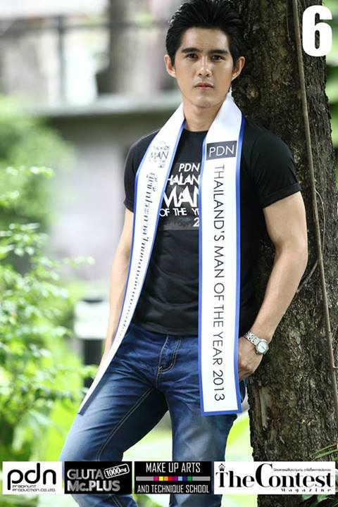 PDN THAILAND'S MAN OF THE YEAR 2013 - 17 FINALISTS-THAI MALE MODEL (1)