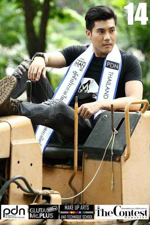 PDN THAILAND'S MAN OF THE YEAR 2013 - 17 FINALISTS-THAI MALE MODEL (16)