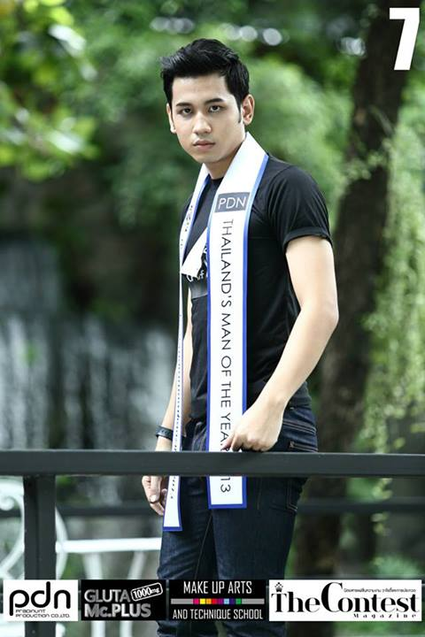 PDN THAILAND'S MAN OF THE YEAR 2013 - 17 FINALISTS-THAI MALE MODEL (17)